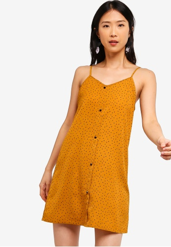 ZALORA BASICS multi Basic Strappy Button Down Dress 068BAAA2172061GS_1