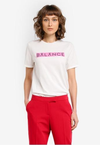 Vero Moda white Balance T-shirt VE975AA0SKQFMY_1