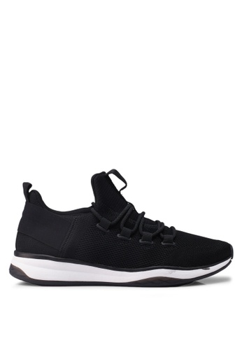 ALDO black Knitted Sneakers 02483SHC622BCAGS_1