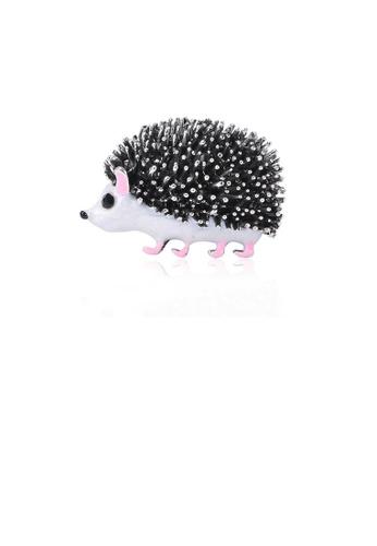 Glamorousky silver Fashion Cute Hamster Brooch FC0F8AC22B7F64GS_1