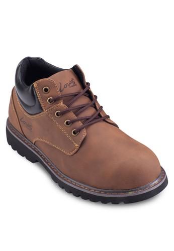 撞色繫帶踝靴, 鞋zalora 評價, 鞋