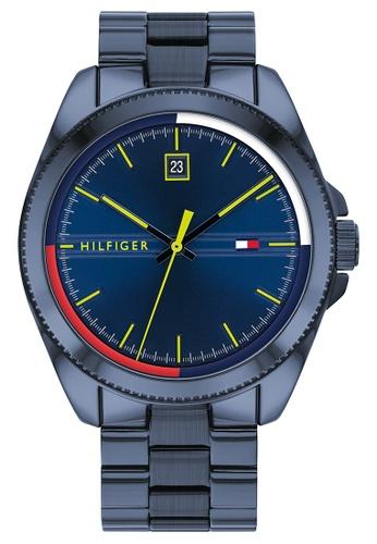 Tommy Hilfiger blue Tommy Hilfiger Navy Men's Watch (1791689) DB6DAACF150459GS_1