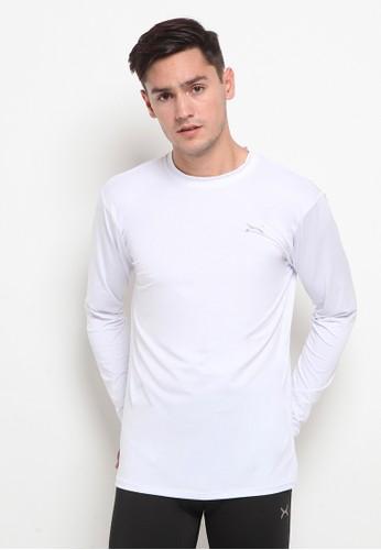 Flexzone white FLEXZONE Long Sleeves Baselayer Essential Series White EA98FAA7D59022GS_1