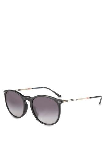 Burberry black Black BE4250QF Sunglasses BU958GL0ROS5MY_1