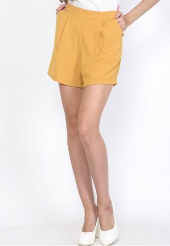 Veyl yellow Lukky Short Pants Yellow 6E3CEAA04B83A4GS_1