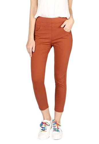 London Rag orange Orange Skin Fit Cigarette Pants 1A2ABAA7786B3EGS_1