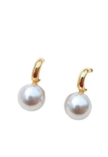 Kings Collection gold Vintage Faux Pearl Earrings (KJEA20056) 109E8ACD9AAF96GS_1