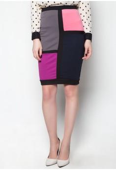 Daris Combo Skirt