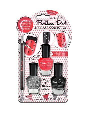 L.A Girl multi LA Girl Nail Art Polka Dot Spotty Dotty 049CEBE1963E2AGS_1