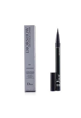 Christian Dior CHRISTIAN DIOR - Diorshow On Stage Liner Waterproof - # 096 Vinyl Black 0.55ml/0.01oz 342D8BE1BAA9FFGS_1