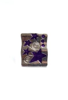 Clique Fashion Jewelry Big Ring Statement Square Star