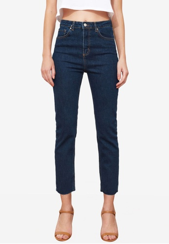 Trendyol navy Mid Rise Skinny Jeans AC6C8AA8B4885BGS_1