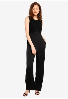 1ab704de153c CLOSET High Waisted Jumpsuit S  163.90. Sizes 10 12 14 16