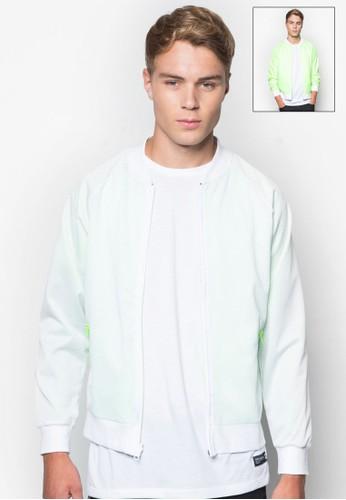 Men's Reversibleesprit分店 Sporty Bomber Jacket, 服飾, 外套