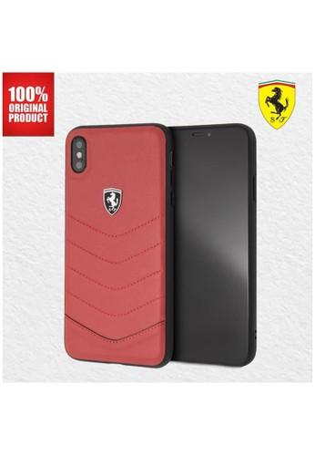 Ferrari red Ferrari Heritage Quilted Leather - iPhone XS Max - Red 43812ES325482FGS_1