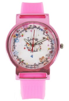 Pic Watch Dream Catcher Ladies' Silicon Watch