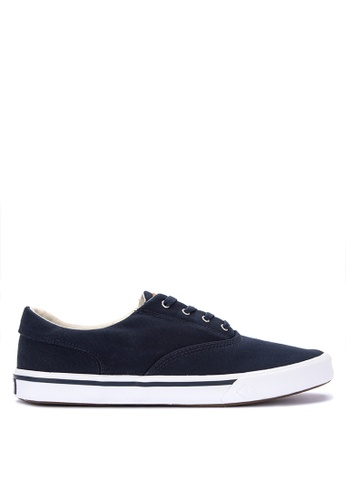 Sperry navy Striper II CVO Saturated Sneakers 68C93SHE4D5297GS_1