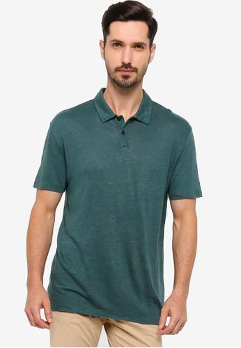 BOSS 綠色 Paino 06 Polo Shirt C296AAAFFD37CEGS_1
