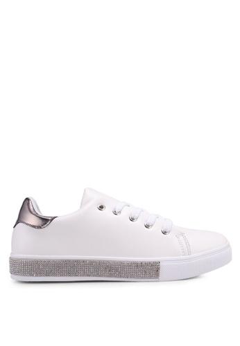Nose white Duo Tone Sneakers 5EB74SH77690E3GS_1