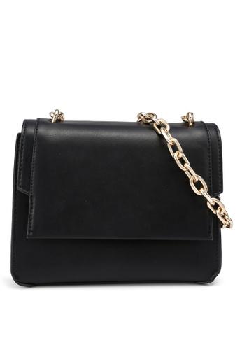 Forever New black Simone Chain Crossbody Bag 3AFF1ACB7D21DFGS_1
