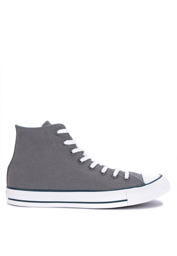 87e9f776206 Converse grey Chuck Taylor All Stars Seaonal Color Canvas Sneakers  3841CSHC956546GS 1