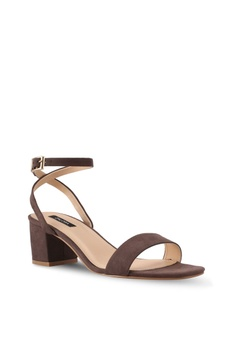 10% OFF ZALORA Minimalist Low Chunky Heel RM 89.00 NOW RM 79.90 Available  in several sizes