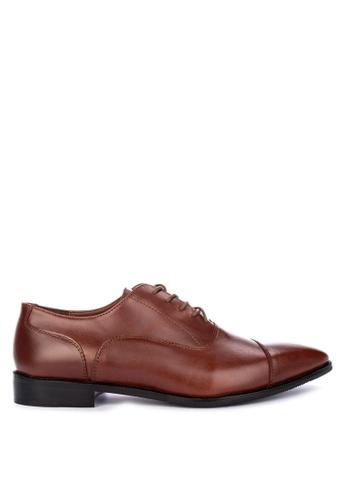 Antonio Manila brown Nicholas Laced-Up Shoes C1615SH038D0DAGS_1