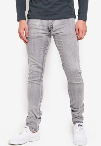 Electro Denim Lab 灰色 Indie-Skinny Jeans E2CC5AAD592F81GS_1