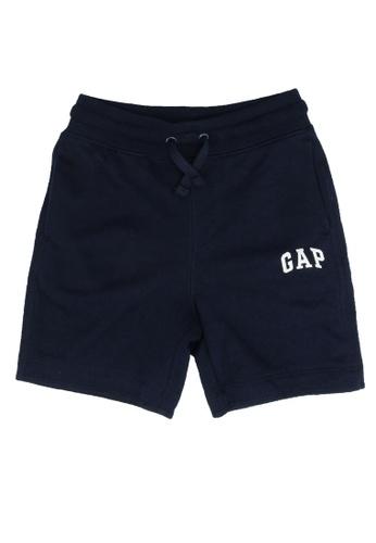 GAP navy Logo Shorts A2487KAE1303F1GS_1