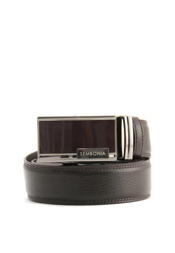 SEMBONIA brown SEMBONIA Men Genuine Leather Belt (Brown) FB8A6ACE29986FGS_1