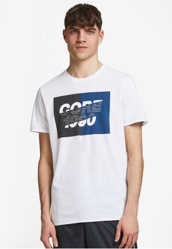 Jack & Jones white Crew Neck T-Shirt 397DAAA4CA5F69GS_1