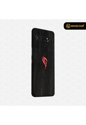 Exacoat Asus ROG Phone 3 3M Skins Wood Series - Wood Ebony 823A0ESE20145CGS_1