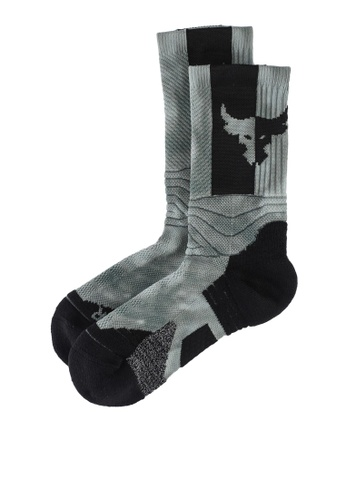 Under Armour green Project Rock Playmaker Socks 691BEACD9AB11AGS_1