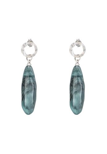 niko and ... green Dangle Stone Earrings ACAB9AC791FC25GS_1
