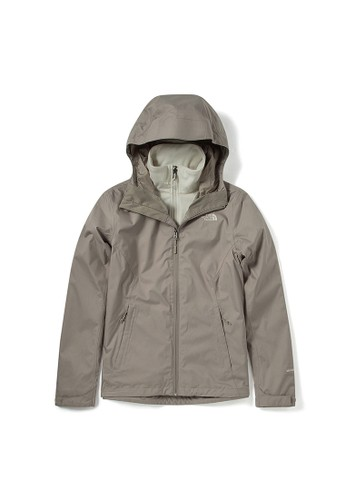 The North Face grey The North Face Women Arrowood Triclimate Jacket Grey-NF0A4N9WVQ8 D4974AA19A0A61GS_1