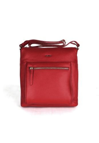 Picard red Picard Rhone Medium Sling Bag PI517AC0HAY5SG_1