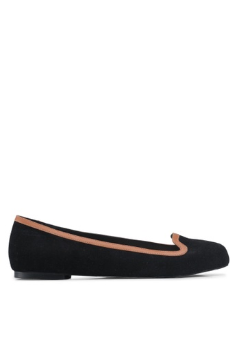 OCEEDEE 黑色 質感平底鞋 785B3SHB0DC761GS_1