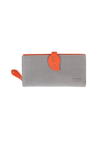 VERNYX - Woman's Pretty Zys Leaf Wallet DO349 Orange - Dompet Wanita