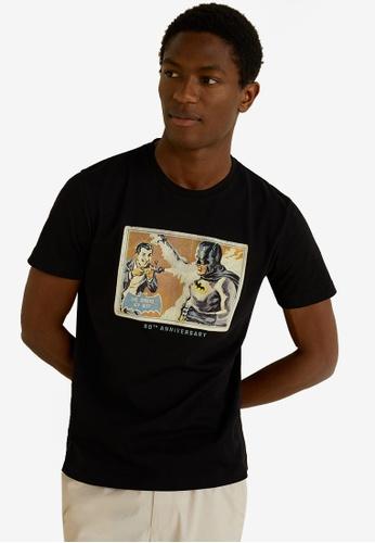 10a83d793 Buy MANGO Man Batman T-Shirt Online on ZALORA Singapore