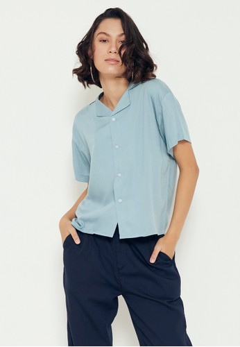 Sparse Label SPARSE Women's Basic Shirt in Tosca D996BAAEE85A12GS_1