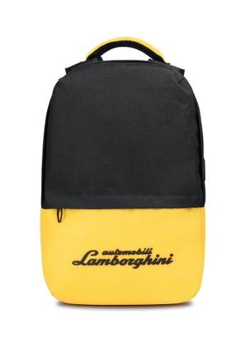 Lamborghini black Automobili Lamborghini® Galleria Black Backpack 88F2EAC8C5752EGS_1