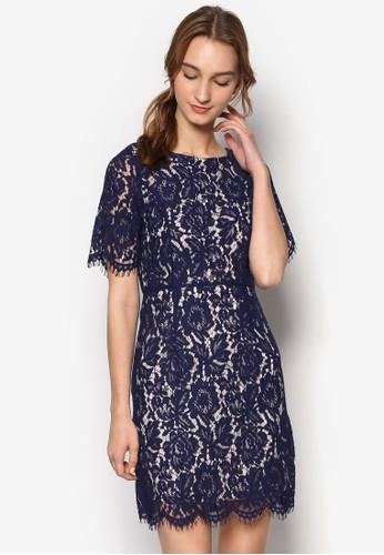 Emma 蕾絲短袖連身裙, 服飾esprit 京站, 洋裝