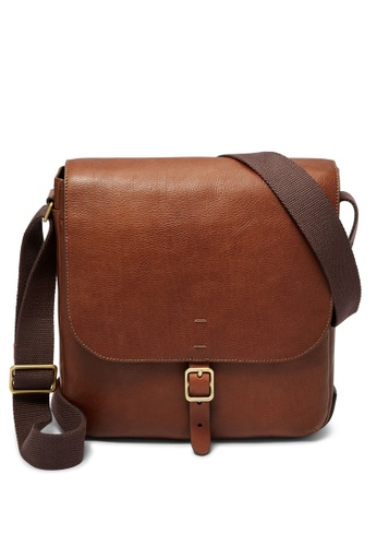 58d57d6d2 Shop Fossil Buckner Ns City Bag Online on ZALORA Philippines