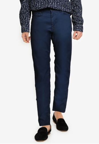 BOSS 藍色 Maine3-10-20 Pants - BOSS Men 45F9FAADDC308BGS_1