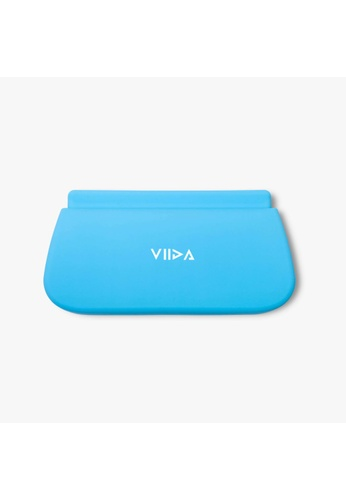 Viida [VIIDA] The Chubby Series Multipurpose Waterproof Durable Silicone Pouch (Large) Baby Blue - Innovative Pinch-Press Seal - Eco-Friendly 0B2B3KCEB4F35FGS_1