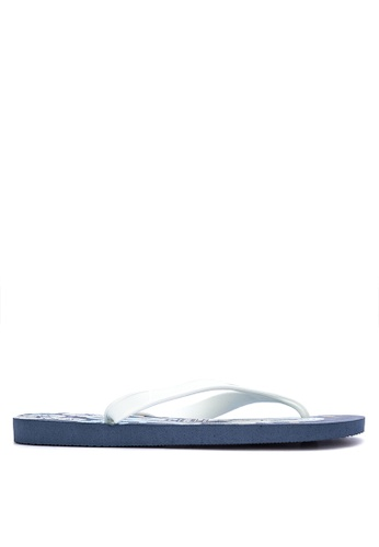 Dupe blue and multi Surfe Sandals & Flip Flops 69EEBSH0E0A127GS_1