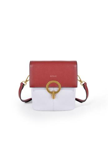 Esfolar red Esfolar Crossbody Bag (EA190021) 61133AC5B2EB39GS_1