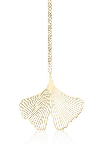 銀杏項鍊, 飾品配件,esprit官網 項鍊