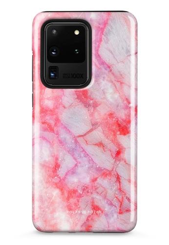 Polar Polar pink Gloaming Island Dual-Layer Tough Case Glossy For Samsung Galaxy S20 Ultra 5G 14D77AC35A8E43GS_1