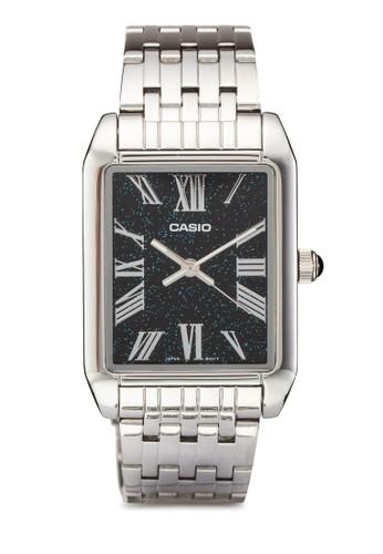 方框石英羅馬數esprit香港分店字指針鍊錶, 錶類, 飾品配件